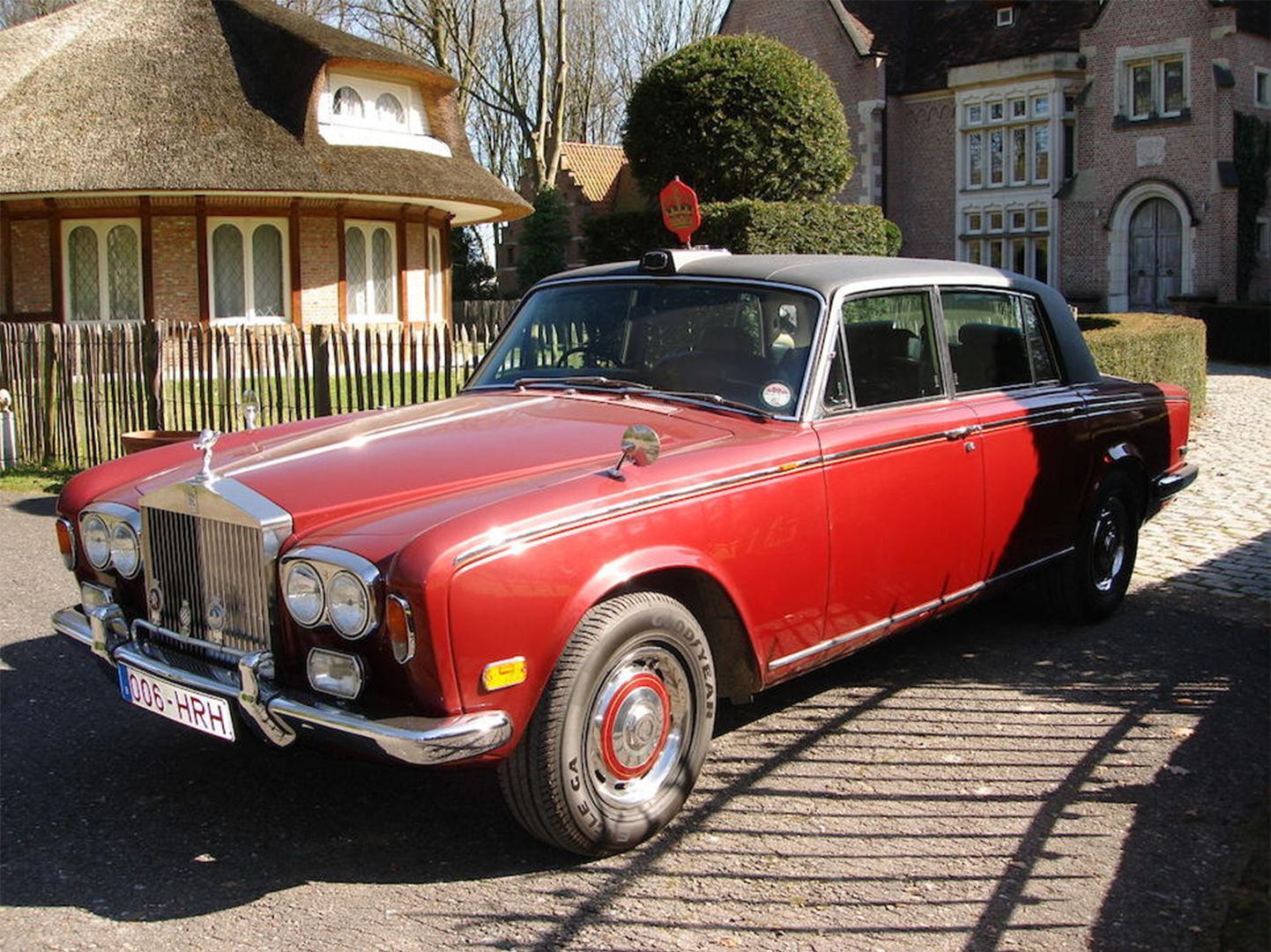 Princess Margaret's 1975 Rolls-Royce Silver Shadow LWB Limousine