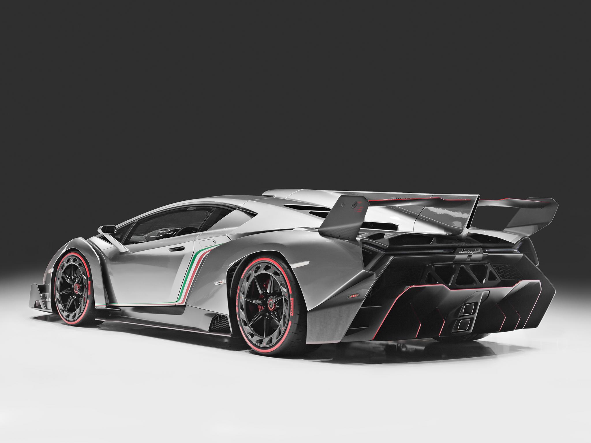 The Veneno was developed to celebrate the 50th anniversary of Lamborghini in 2013