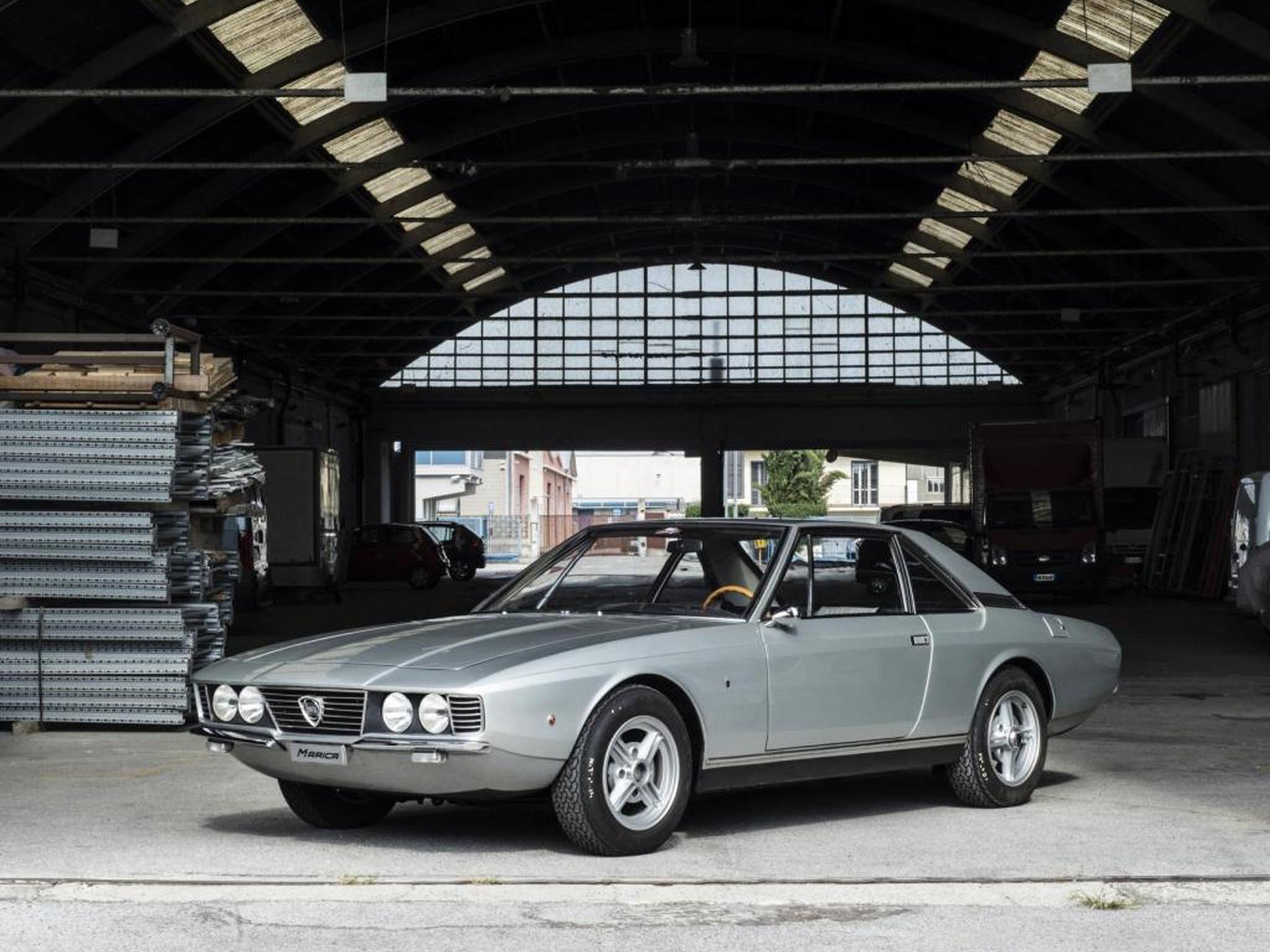 Lancia Flaminia Marica Ghia produced in 1969