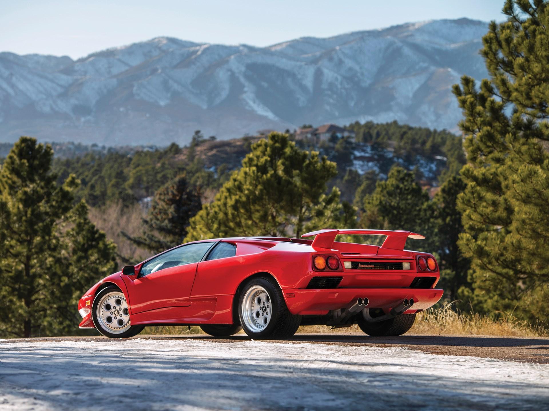 1991 Lamborghini Diablo sold for $68,200