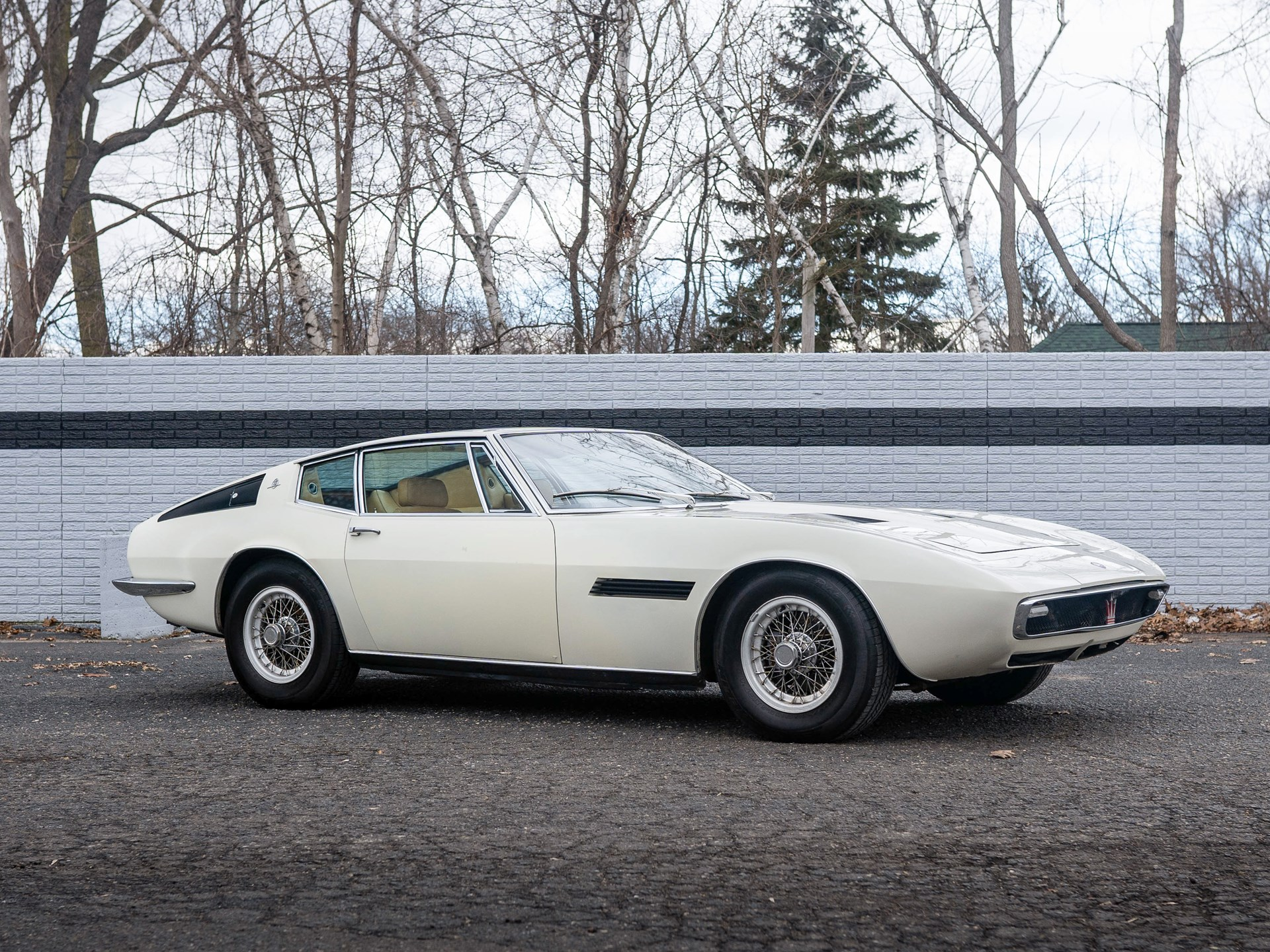1967 Maserati Ghibli 4.7 Coupe sold for $84,700