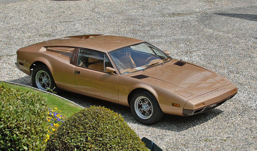 De Tomaso Pantera II 7x Montella produced in 1973