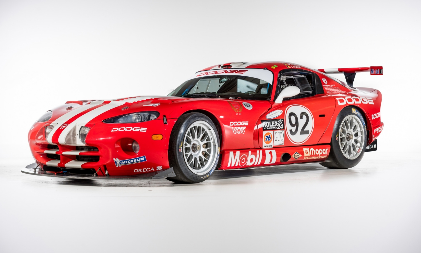 The development of the Viper GTS-R was the result of a collaboration between Chrysler, Oreca Engineering and Reynard Motorsport which led to the production of 57 competition examples. They claimed many successes including the outright victory in the 24 Hours of Daytona and the three consecutive class wins at Le Mans from 1998 to 2000