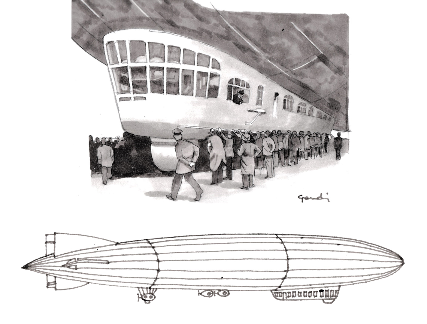 Jaray's work in the Zeppelin wind tunnel led to aerodynamic solutions for road cars