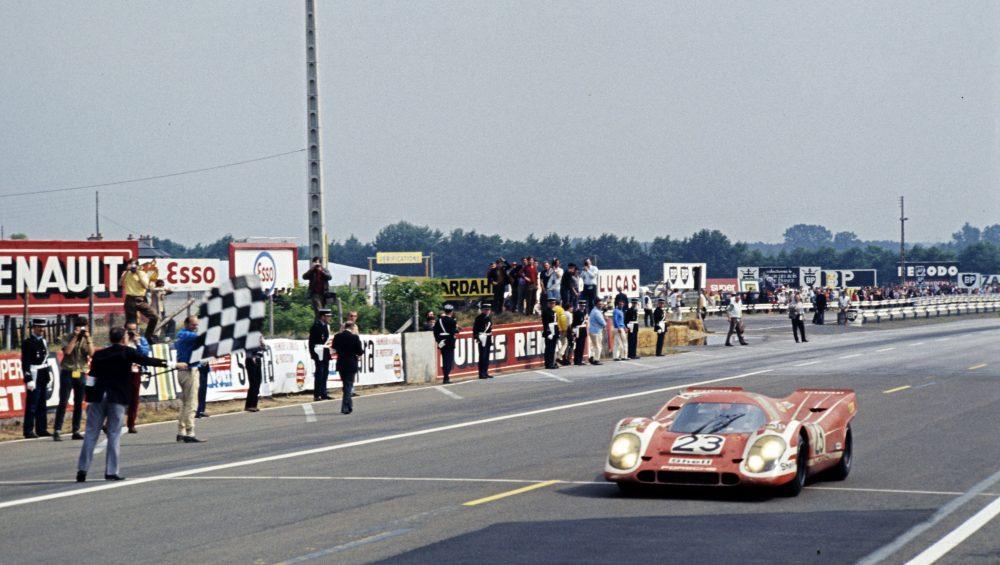 Richard Attwood's Porsche 917K, driven in 1970 at Le Mans 24 Hours
