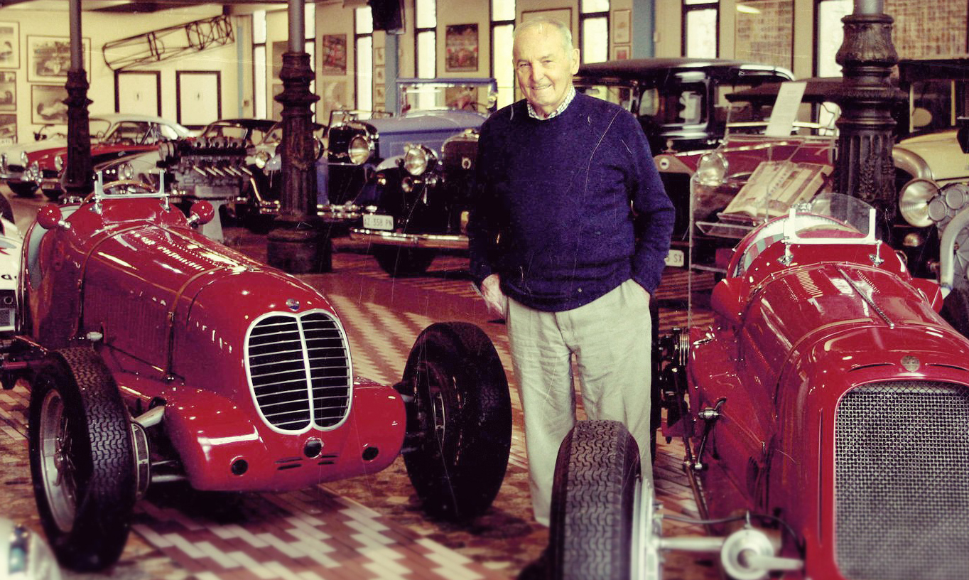 "Umberto Panini, nicknamed ""Hombre"", after spending many years in Venezuela, was the courageous author of the rescue mission that saved the historic Maserati Heritage from being lost at auction"