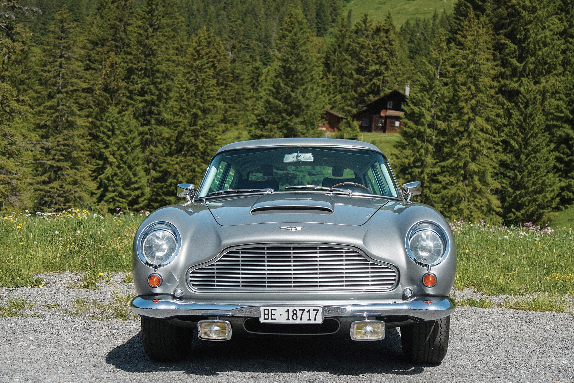 Brown Beats Bond The Classic Car Trust