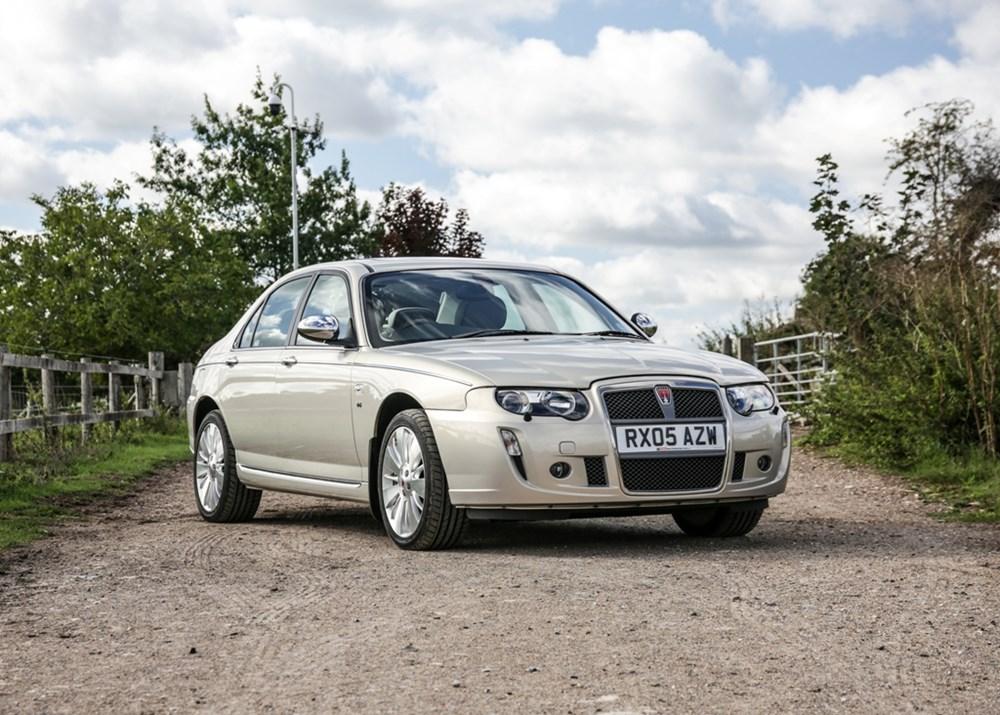 2005 Rover 75 Connoisseur SE V8 sold for £19,244