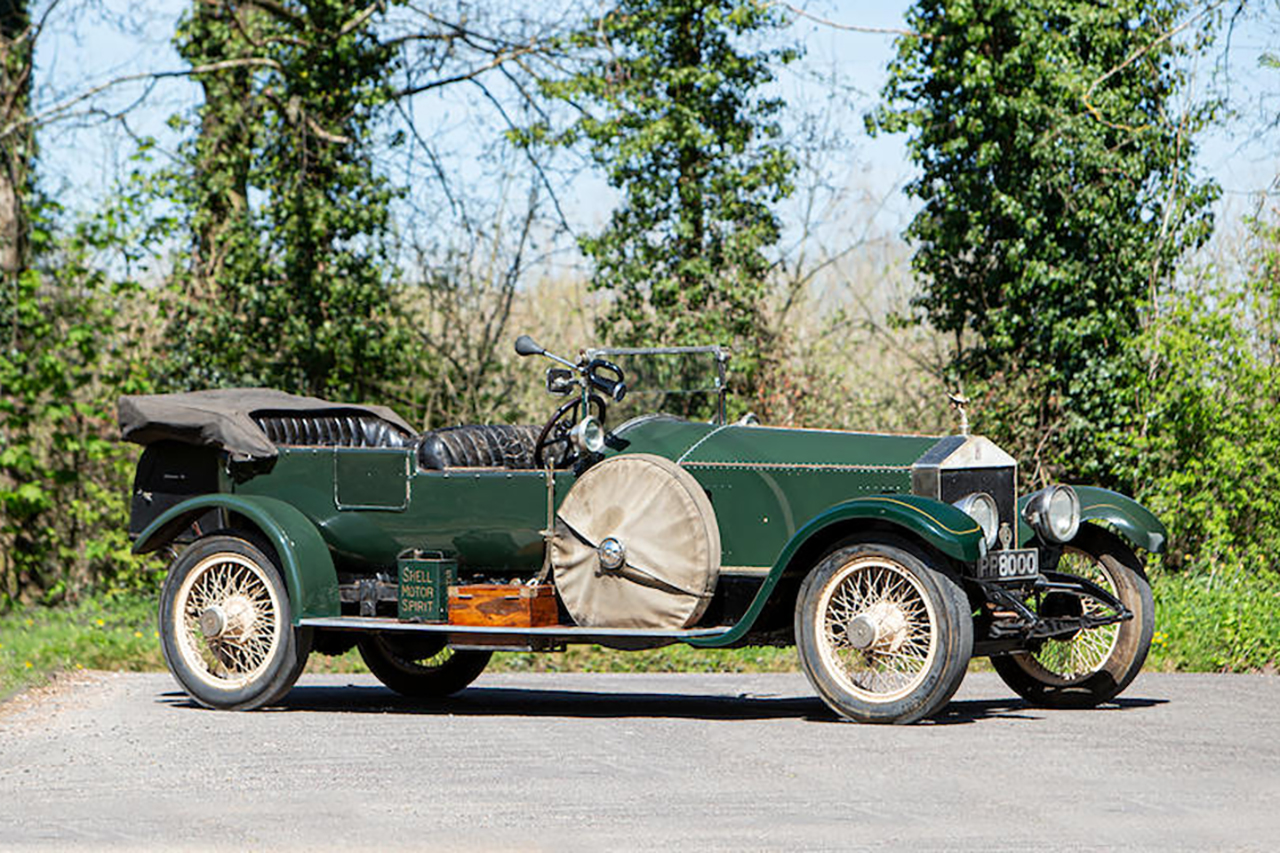 1920 Rolls-Royce 40/50HP Silver Ghost Tourer Coachwork by Bithal & Nago