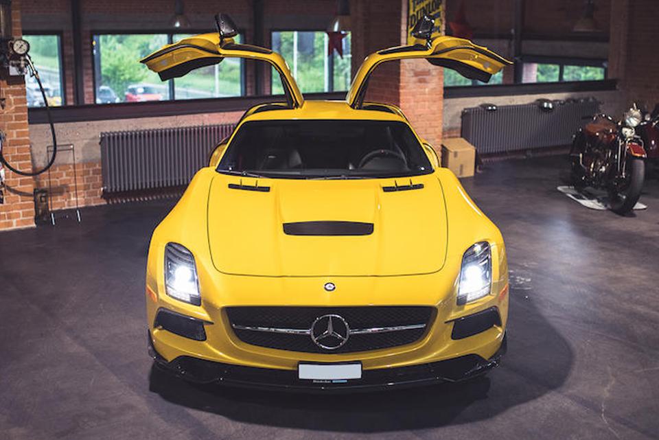 """2014 Mercedes-Benz SLS AMG """"Black Series"""""""