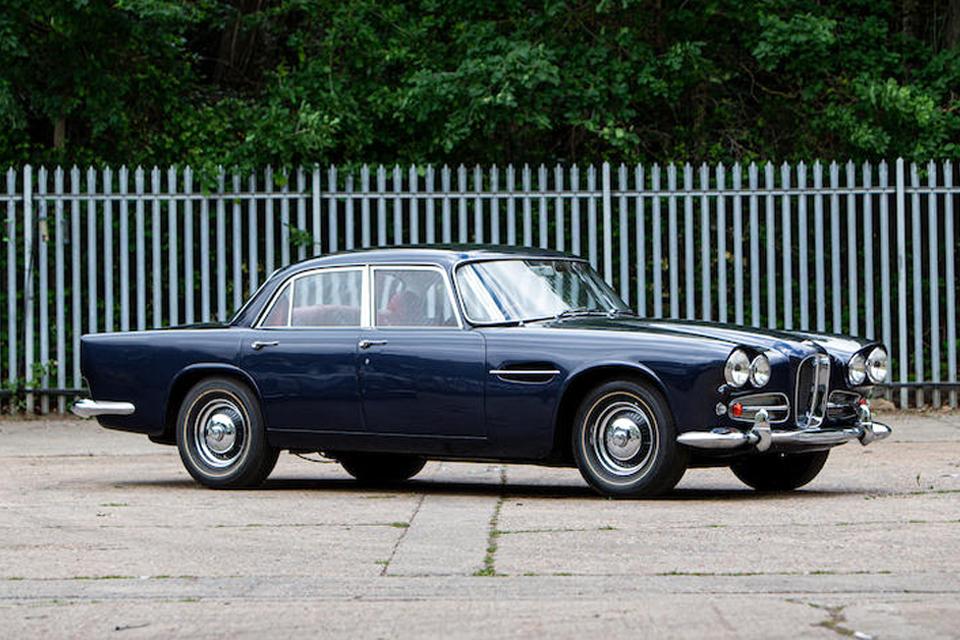 1963 Lagonda Rapide sold for £78,200 (€91,450)