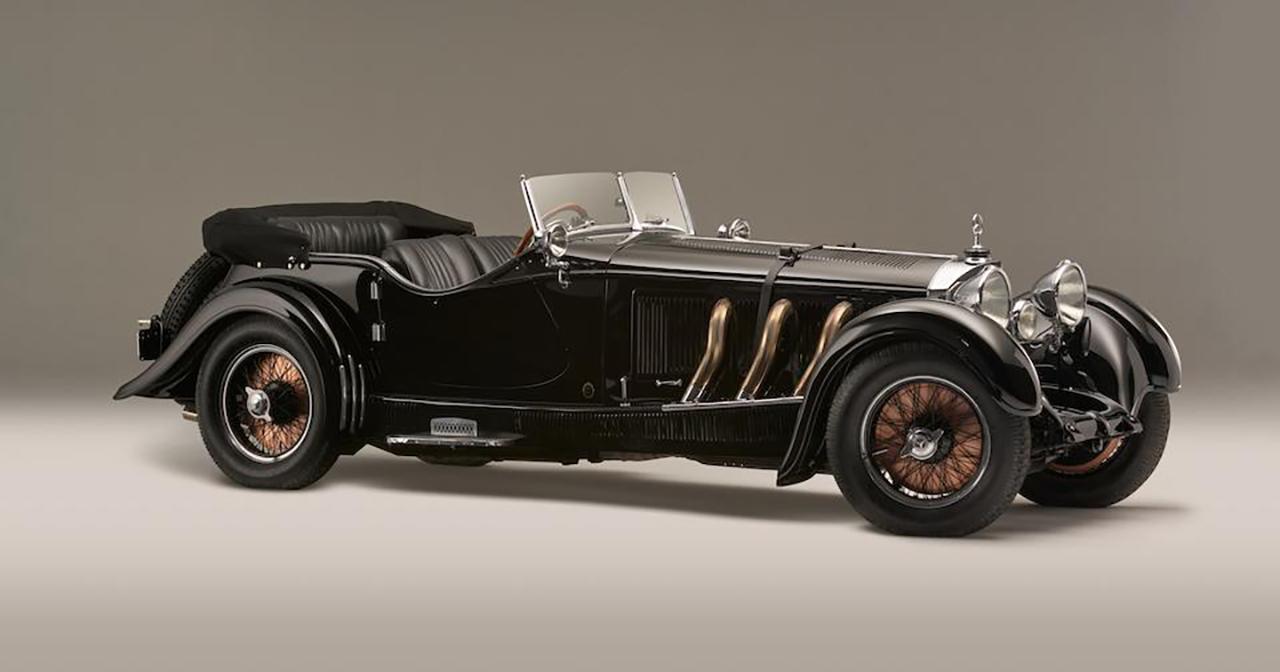 1928 Mercedes-Benz 26:120:180-S-Type Supercharged Sports Tourer