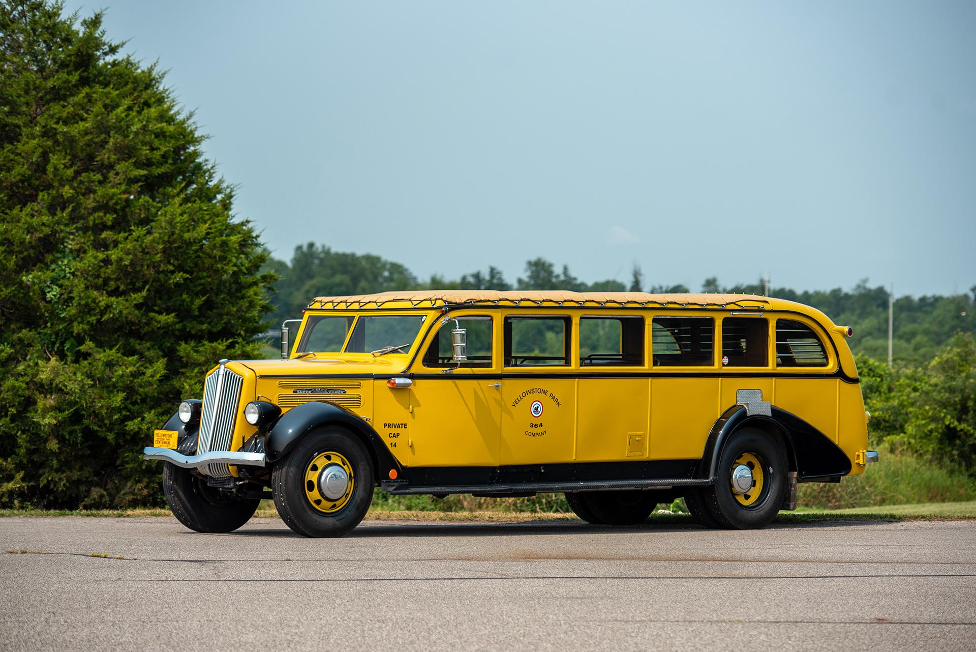 1936 White Model 706 'Yellowstone National Park' Tour Bus