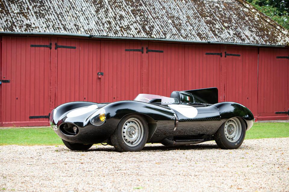 1956:1980s Jaguar D-Typeex-Valentine Lindsay