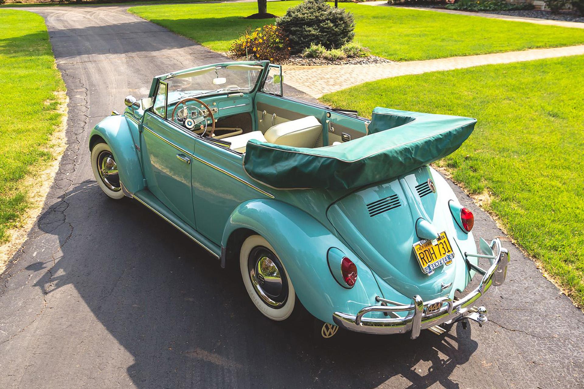 1962 Volkswagen Beetle Convertible