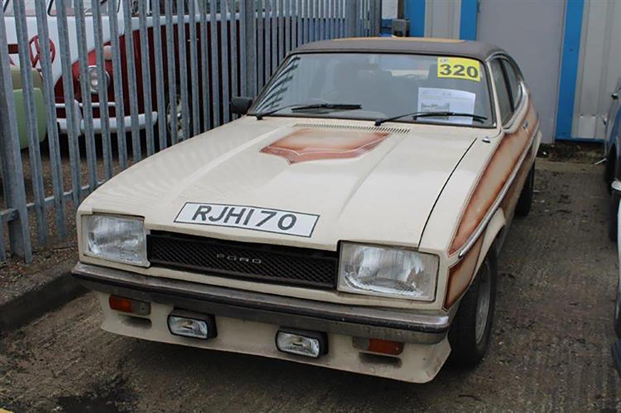 1974 Ford Capri MkII 3.6 V8 FF