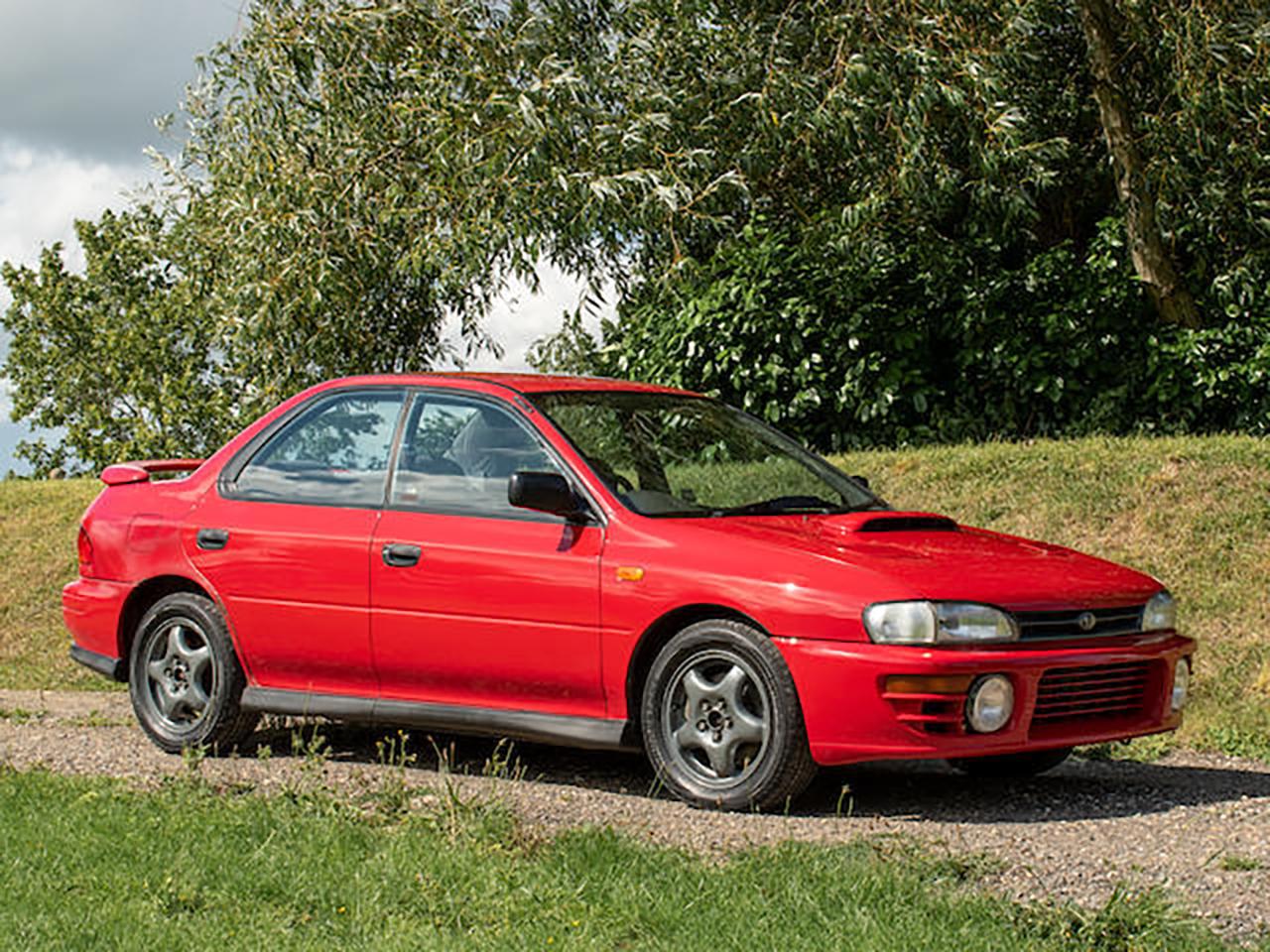1996 Subaru Impreza UK2000 ex McRae Family