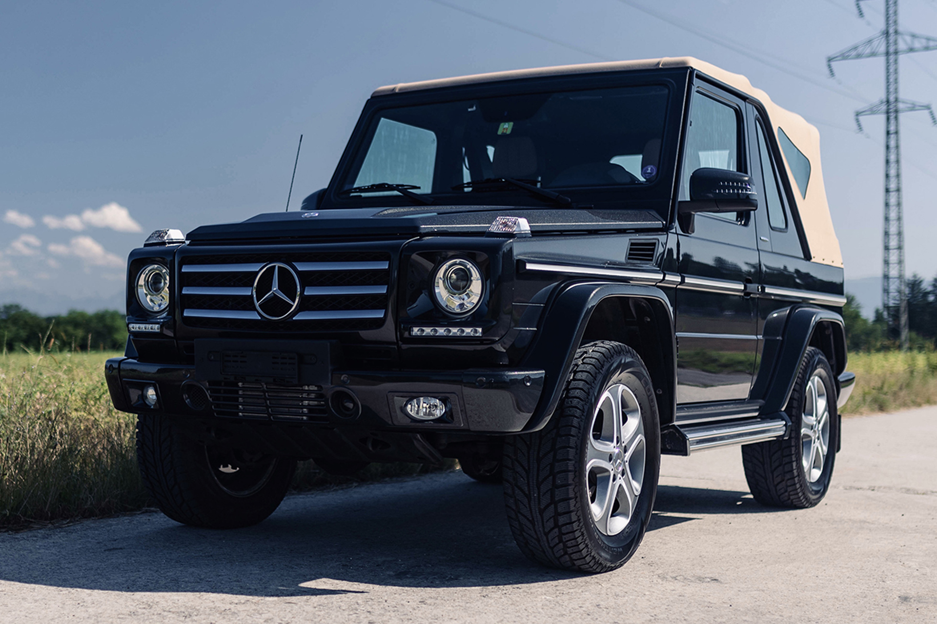 2014 Mercedes-Benz G500 Cabriolet Final Edition