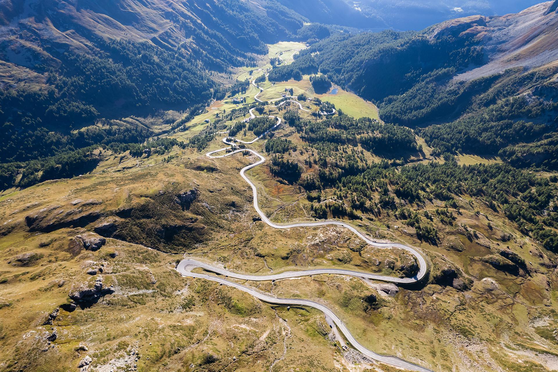 race at the Bernina Pass